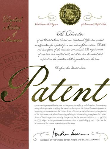 超多極モータ 米国特許証