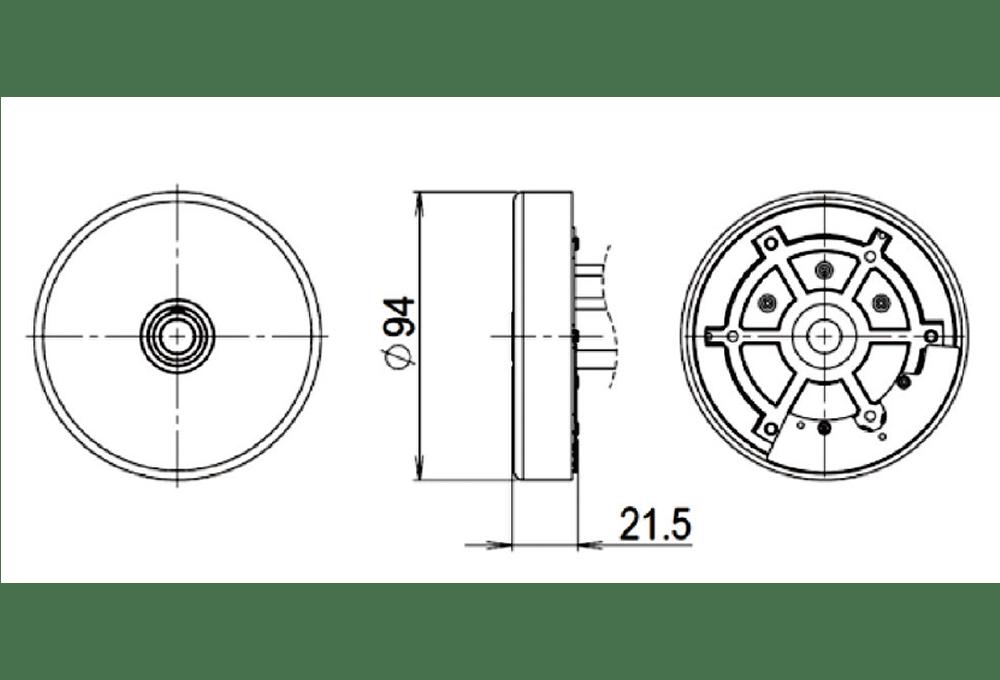UM-9422 外形図